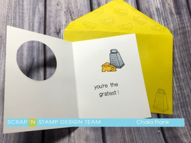 S'nS March Blog Hop - Punny - You're Grate with Envelope - inside.jpg